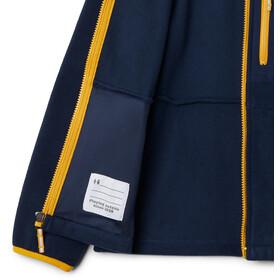 Columbia Fast Trek III Bluza polarowa na zamek błyskawiczny Młodzież, collegiate navy